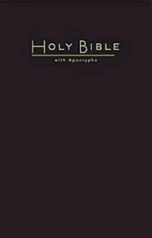 CEB Church Bible With Apocrypha Hardback Black
