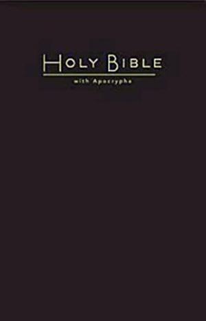 CEB Church Bible With Apocrypha Hardback Black
