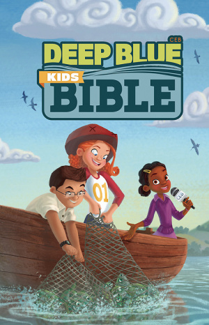Deep Blue Kids Bible-Ceb-Bright Sky