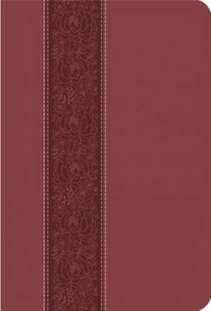 CEB Common English Bible: Cinnamon Bloom, Large Print, Thinline