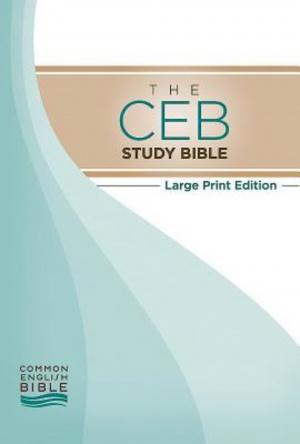 CEB Study Bible Large Print Hardback