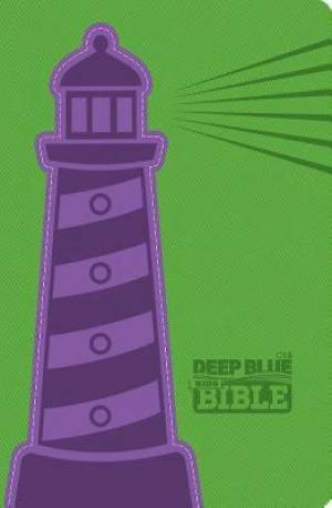 Ceb Deep Blue Kids Bible Lighthouse Decotone