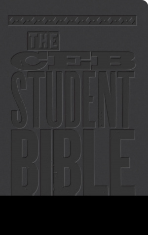 The Ceb Student Bible Black Decotone