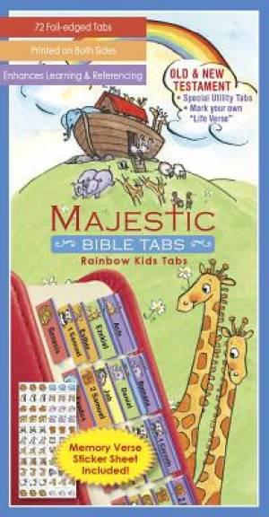 Bible Tabs for Kids: Noahs Ark