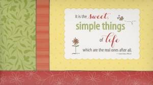 Simple Joys: Notecard Folio, The