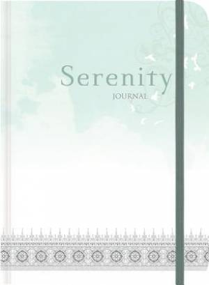 Serenity-Inspirational Message Blank Journals
