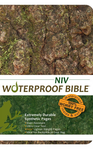 NIV Waterproof Bible: Camo, Paperback