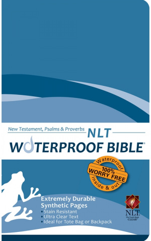 NLT Waterproof Blue New Tesatament Psalms Proverbs