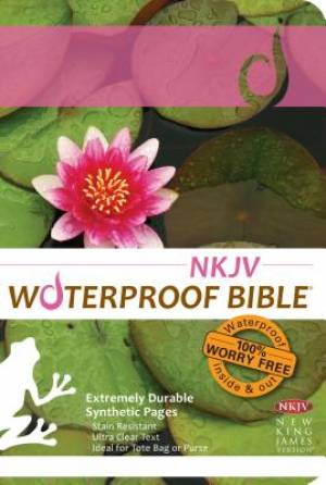 NKJV Waterproof Bible Lily Pad