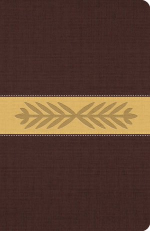 The Message Bible Harvest Wheat Brown Imitation Leather