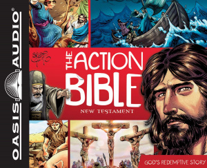 Action Bible, The - New Testament -audiobook