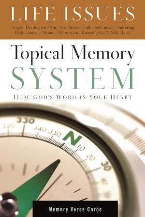 Topical Memory System Life Issues Memory Verse Cards