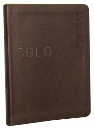 The Message Solo Devotional Brown Imitation Leather