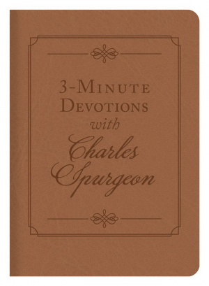 3-Minute Devotions with Charles Spurgeon Imitation Leather