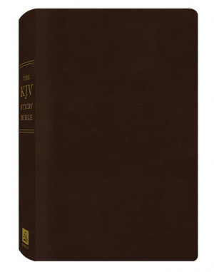 KJV Todays Study Bible: Burgandy, Bonded Leather