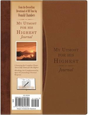 My Utmost For His Highest Journal