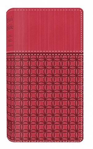 KJV Vest Pocket Bible Imitation Leather Pink