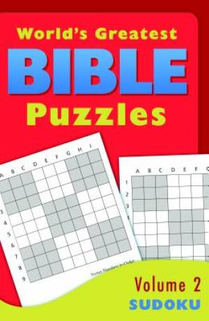 World's Greatest Bible Puzzles - Volume 2 (Sudoku)