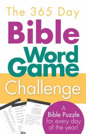 The 365 Day Bible Word Game Challenge