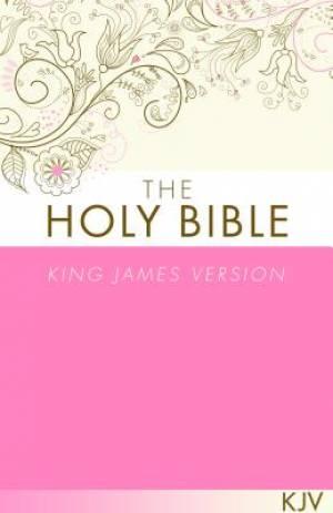 KJV Bible Economy Paperback Pink