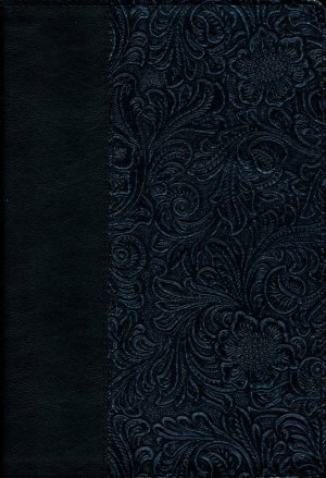 The Message 10th Anniversary Edition: Black Swirls, Bonded Leather