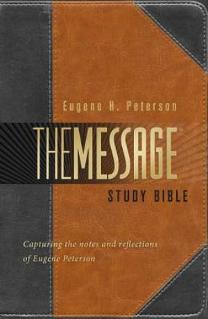 The Message Study Bible: Hardback