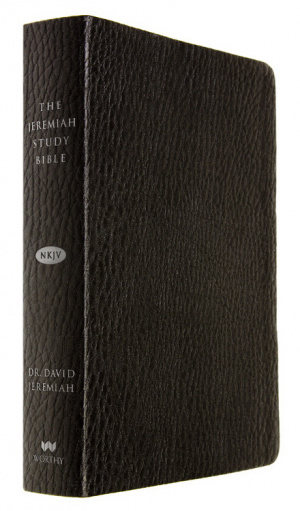 The Jeremiah Study Bible, NKJV: Black Imitation Leather Thumb Index
