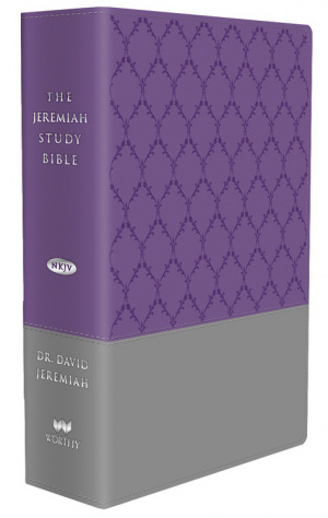 NKJV Jeremiah Study Bible, Purple/Gray