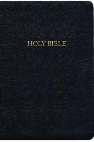 A. W. Tozer KJV Bible Genuine Leather Black Thumb Index