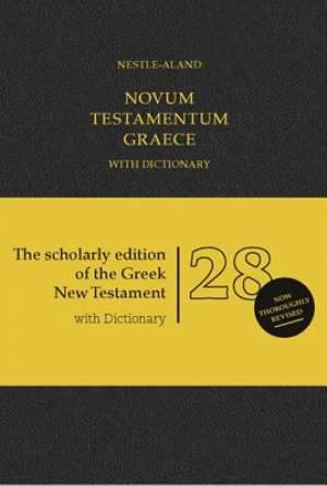 Novum Testamentum Graece with Dictionary