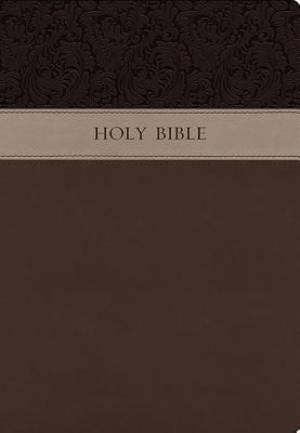 KJV Wide Margin Bible: Brown, Imitation Leather