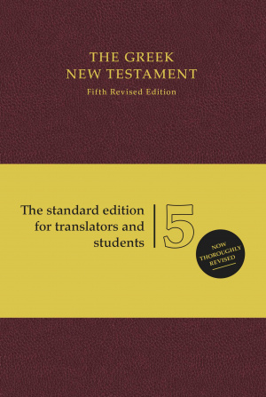 UBS5 Greek New Testament