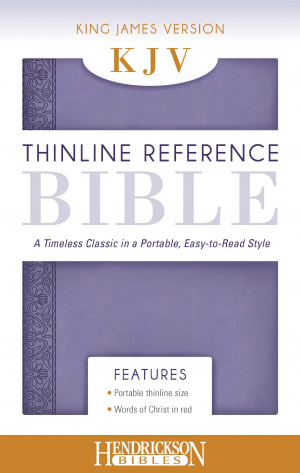 KJV Thinline Reference Bible Lilac
