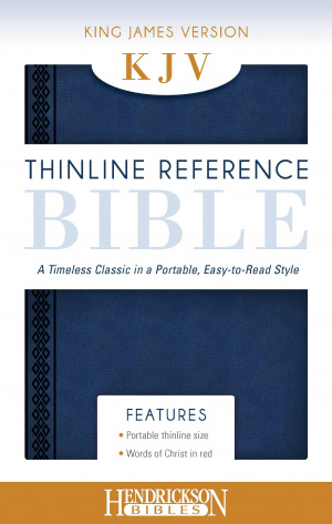 KJV Thinline Reference Bible Midnight Blue