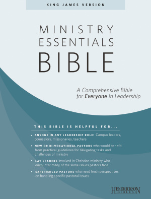 Ministry Essentials Bible-KJV