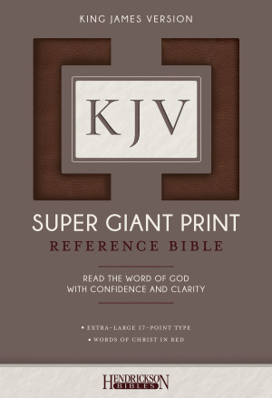 KJV Super Giant Print Bible