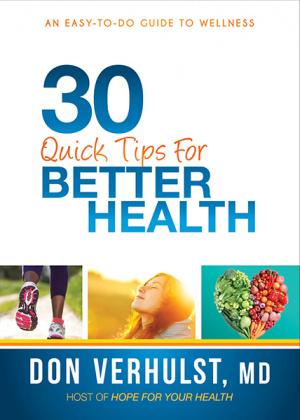 Thirty Tips To Better Health