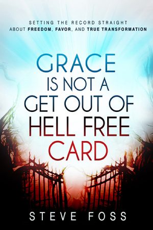Grace Is Not A Get Out Of Hell Free Card Paperback Book