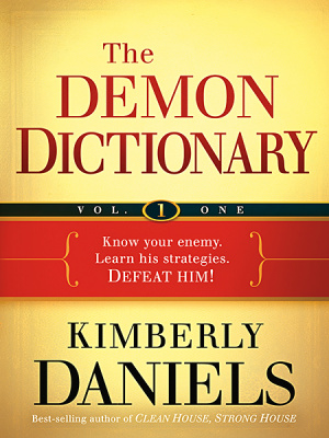 The Demon Dictionary Volume 1 Paperback Book