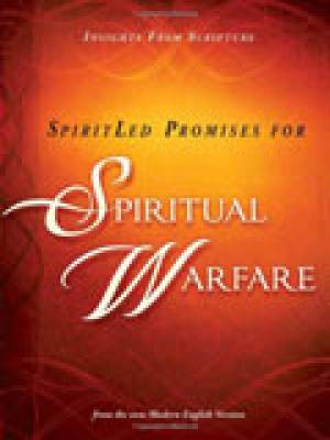 SpiritLed Promises For Spiritual Warfare Paperback Book
