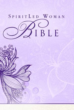 MEV Spirit Led Woman Bible: Purple, Hardback