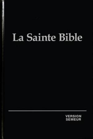 French La Sainte Bible