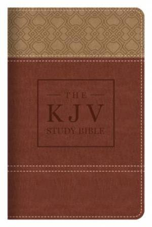 KJV Study Bible Handy Size Brown Imitation Leather