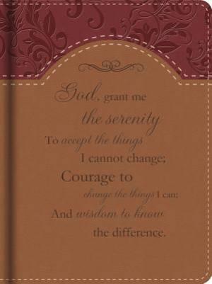 Serenity Prayer Journal