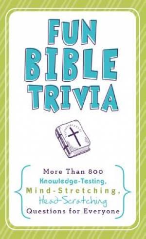 Fun Bible Trivia Pb