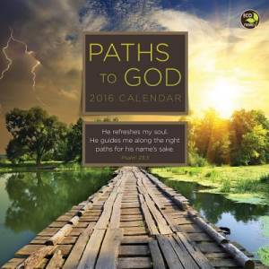Paths To God 2016 Small Calendar