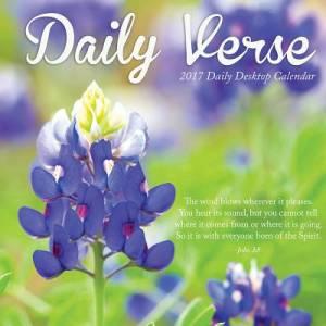 2017 Daily Verse Daily Desktop Calendar