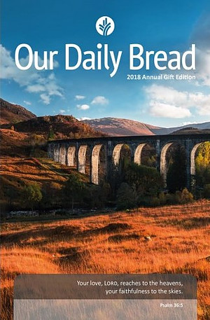 2018 Our Daily Bread Annual