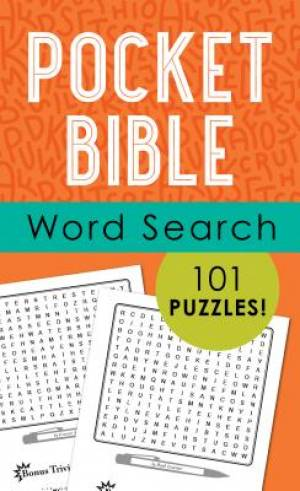 Pocket Bible Word Search Pb