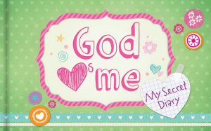 God Hearts Me My Secret Diary Hb